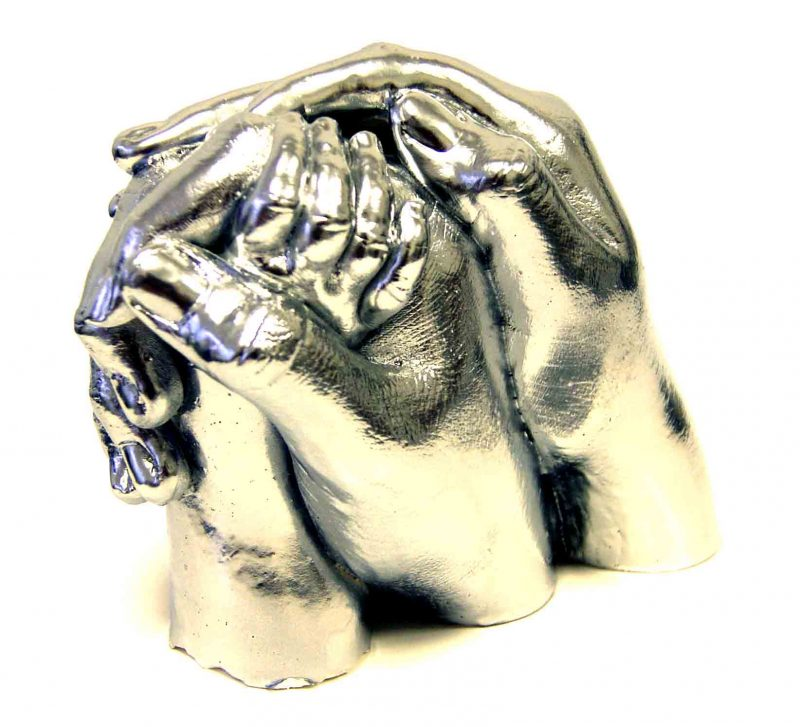 Family Statue casts (3 hands)