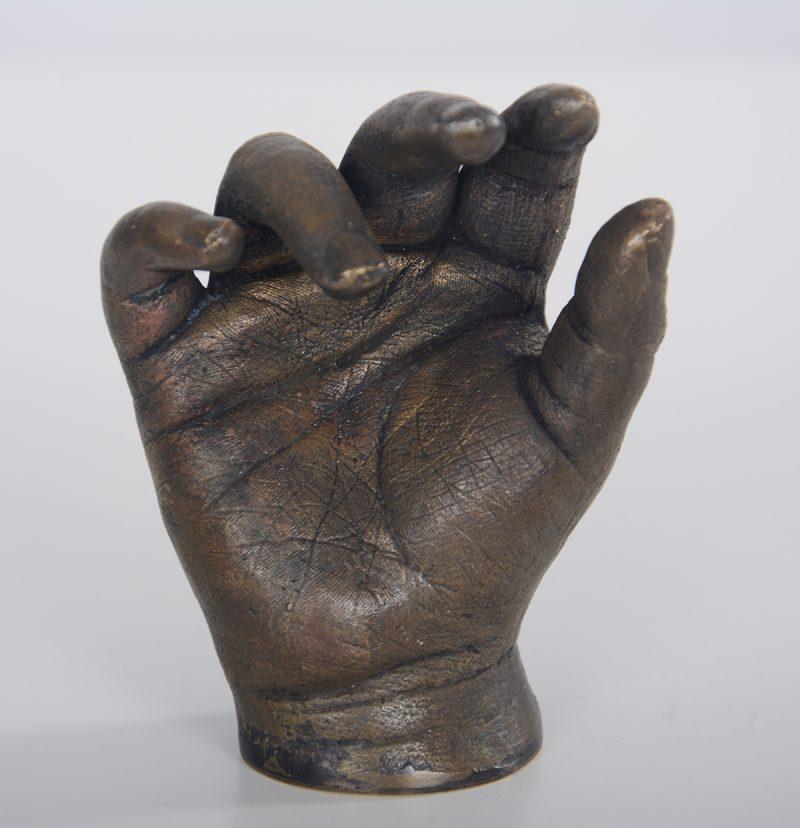 Bronze hand